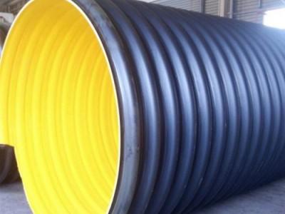 700-800高密度聚乙烯钢带波纹管厂家价格