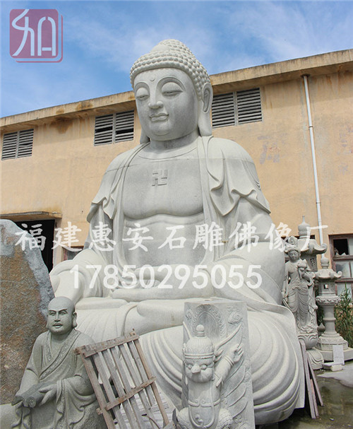 如来佛像坐像,石雕佛像坐姿,石雕佛像造型