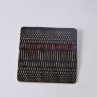 304拉丝青古铜不锈钢花纹板