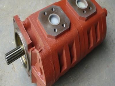 济南液压泵牡丹江随车吊JHP2063/2032齿轮泵