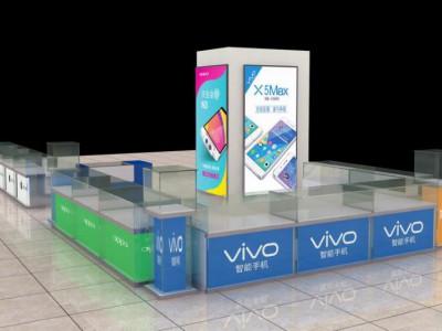 济南新款手机柜台展示柜华为体验台配件柜收银台