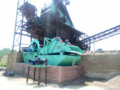 广东广州洗沙机是用来洗沙子的一种洗选设备 沃力机械