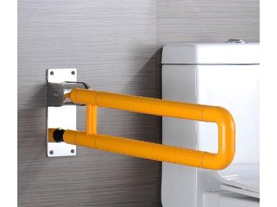 折叠浴凳U型落地扶手 残疾人扶手 医用扶手卫浴扶手价格