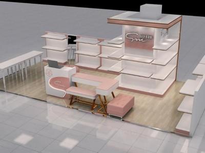济南童鞋专卖店怎么装修设计|童鞋店3D效果图装修设计