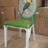 复古咖啡厅奶茶店桌椅休闲铁艺A字太阳椅