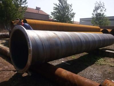 太仓Q235B双面埋弧焊螺旋钢管市场行情