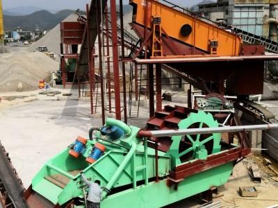 沃力机械手把手教会用户解决广东洗砂机小故障
