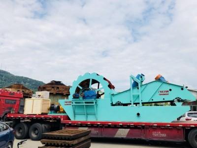 中美沃力机械 广东洗砂机得到了客户的赞赏 厂家直销