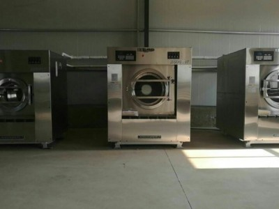 哈尔滨二手大型洗衣设备 二手布草水洗机设备价格