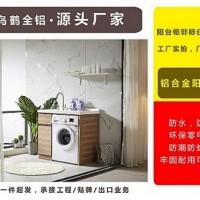 飞鸟鹤新款1米平板单开门全铝阳台洗衣柜组合批发定制 量大从优