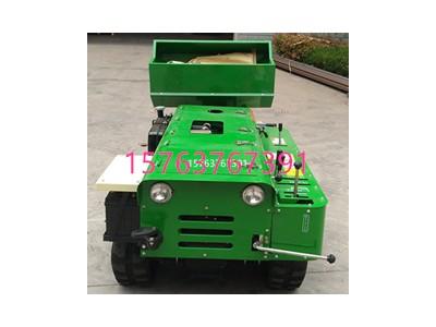 小型旋耕机作业视频 自动履带驱动式深耕机 农用播种开沟机