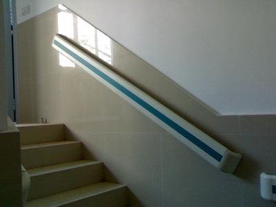 医用医院病房防撞扶手140养老院PVC走廊扶手 铝合金