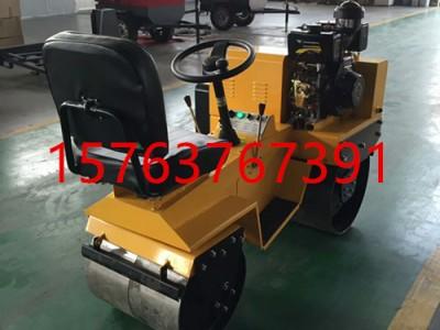 供应一年四季专用的小型压实机 载人式俩轮小碾子  轻型压土机