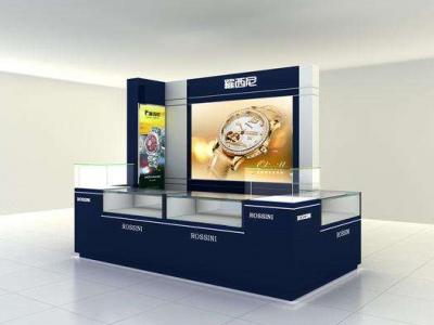 濟南手表展柜制作,濟南展柜制作沒濟南手表手機展柜設計與制作