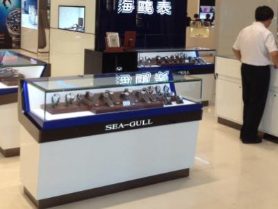 濟南高檔手表展示柜制作 棗莊高檔手表展示柜設計