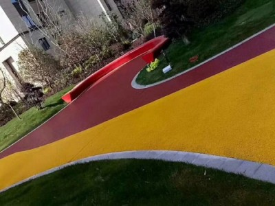 绍兴彩色透水混凝土地坪材料批发,压花地坪模具