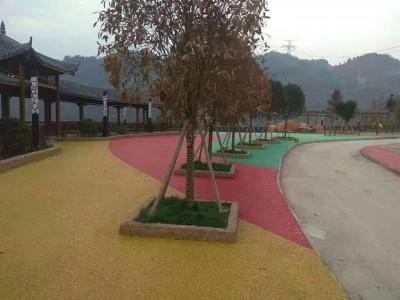 嘉兴彩色透水混凝土地坪材料批发,压模地坪模具施工