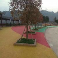 兰溪彩色透水混凝土地坪材料批发,压花地坪模具施工