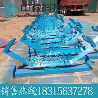 不锈钢托辊支架 矿山调心支架托辊带式输送机配件
