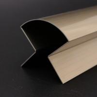 定制304不锈钢金属装饰线条U型踢脚线背景墙收边包角