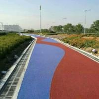 温州彩色透水混凝土地坪材料批发,压模地坪模具施工