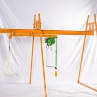 河北家用吊机-200公斤吊粮机批发-东弘起重