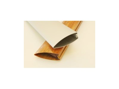 供应氟碳木纹V型铝方通 工程装饰型材厂家直销