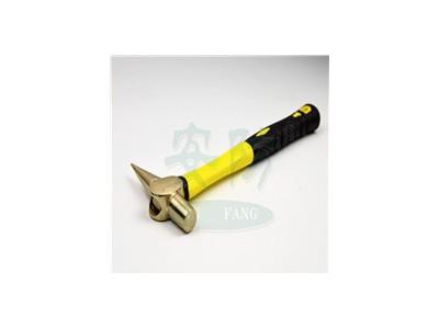 防爆检验锤检查锤纯铜检车锤检修锤尖尾锤子0.25kg