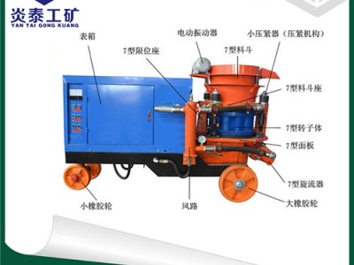 质量保障品质可靠的HSP-7混凝土喷湿机