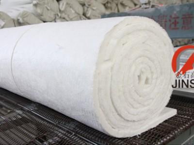 标准耐1050度窑炉背衬保温硅酸铝针刺毯