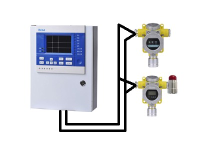 一甲胺气体报警器-安装方便、布线简单-实现现场声光报警