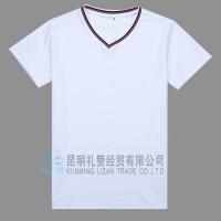 楚雄宣传文化衫批发公司武定南华广告T恤印刷logo