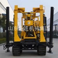 巨匠集团履带式打井XYD-130地质勘探钻机液压岩心钻机