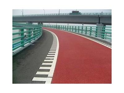 荔湾区黑色沥青路面改色彩色路面喷涂修复