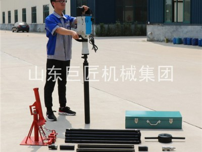 QTZ-3D便携式电动取土钻机可出口研究所高校专用