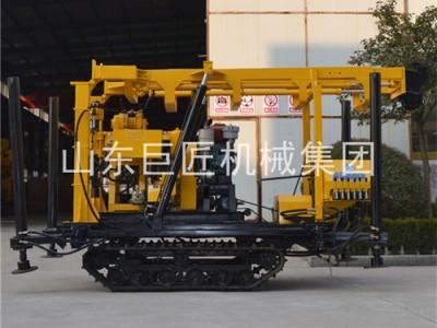 XYD-130履带水井钻机勘探院专用可出口