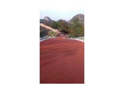 珠海市黑色沥青路面改色彩色路面喷涂修复