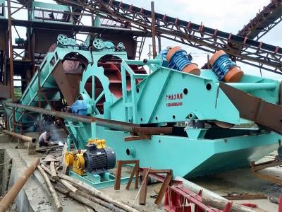 广州沃力设备 大型洗沙设备 江西九江洗沙机 质量保证