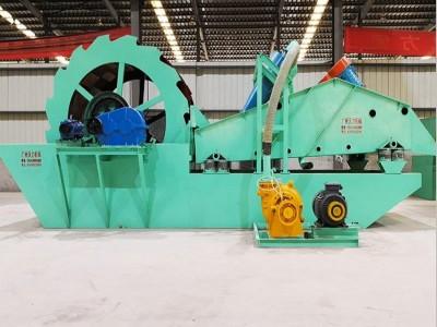 高效江西鹰潭洗砂机 叶轮洗砂设备 沃力机械重工设备