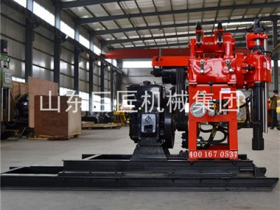HZ-130YY130米液压水井钻机百米钻勘探院专用可出口
