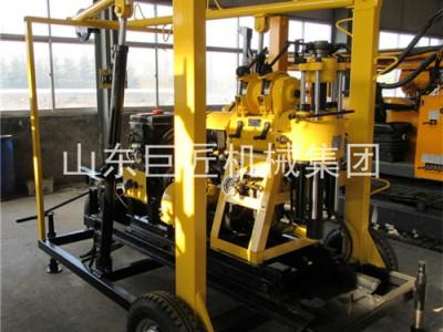 XYX-130130米轮式水井钻机百米钻勘探院专用可出口
