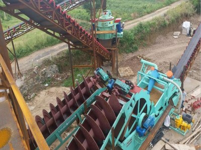 广东沃力机械设备 江西抚州螺旋洗砂机 工作原理