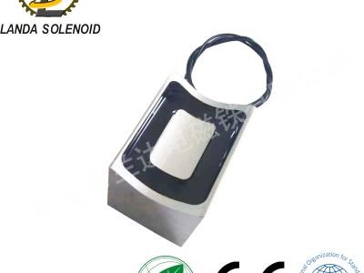 兰达厂家直销直流吸盘式定制电磁铁HY904050