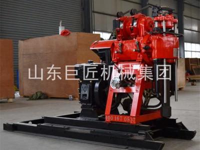 巨匠集团工程地质钻机内含移位滑道提钻方便快速