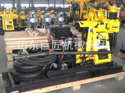 巨匠集团拖挂岩芯钻机移动方便效率高