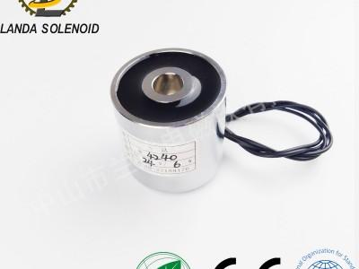 圆形吸盘式电磁铁 H4240直流电磁铁 起重机械手电磁铁