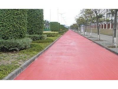 非机动车彩色沥青路面喷涂超长保质