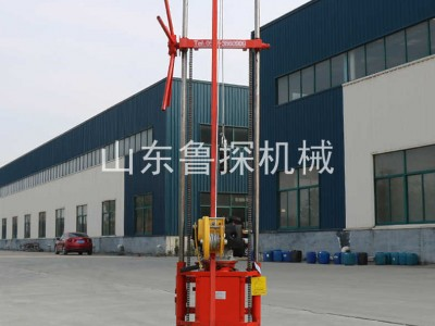 鲁探供应QZ-2CS型卷扬机款汽油机轻便取样钻机