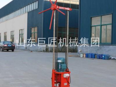 巨匠集团大功率三相电轻便多用途 取样钻机30米岩芯钻机