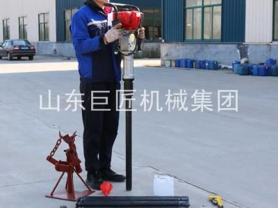 巨匠集团便携式15米取土钻机 环境监测取土化验钻机热销